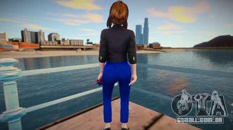 Samantha Samsung (Sam) Virtual Assistant - Origi para GTA San Andreas