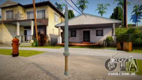 Traveler sword BOTW para GTA San Andreas
