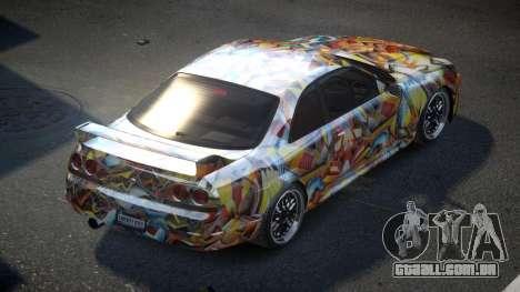 Nissan Skyline R33 US S4 para GTA 4