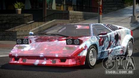 Lamborghini Countach GST-S S7 para GTA 4