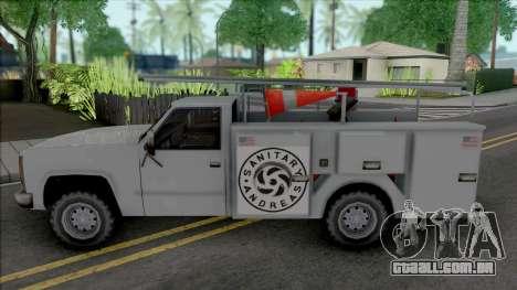 Improved Utility Van para GTA San Andreas