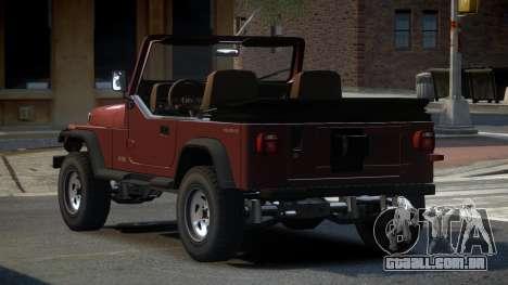 Jeep Wrangler BS para GTA 4