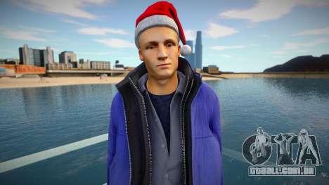 New Year man para GTA San Andreas