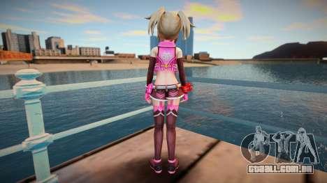 Megadimension Neptunia Collab Makers - GodEat v3 para GTA San Andreas