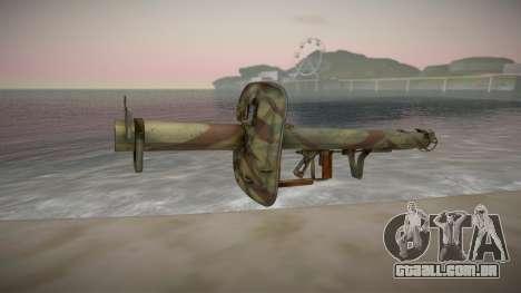 Panzerschreck Anti-Tank Rocket Launcher para GTA San Andreas