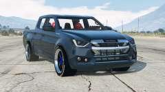 Isuzu D-Max Cabine Dupla 2019〡add-on v2.0 para GTA 5