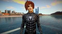 Spiderman 2007 (Black-Unmask) v1 para GTA San Andreas