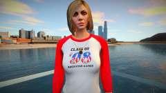 Garota de jeans cinza de GTA Online para GTA San Andreas