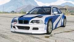 BMW M3 GTR (E46) Mais Procurado〡d-on v2.0 para GTA 5