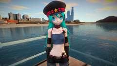 PDFT Hatsune Miku Punk para GTA San Andreas