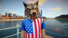 American wolf para GTA San Andreas