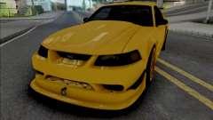 Ford Mustang SVT Cobra R 2000 [IVF ADB VehFuncs] para GTA San Andreas