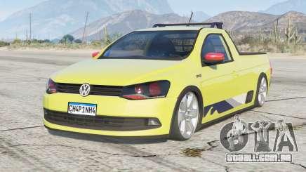 Volkswagen Saveiro CS Surf 2015〡〡d-on para GTA 5