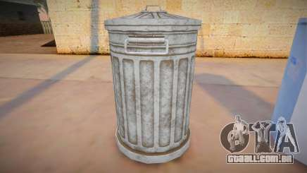 HQ Trash Bin para GTA San Andreas