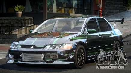 Mitsubishi Evo 8 U-Style S10 para GTA 4