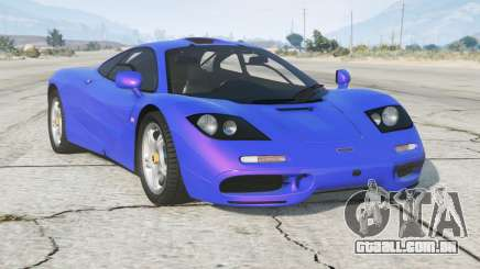 McLaren F1 1 1993〡add-on v1.1 para GTA 5