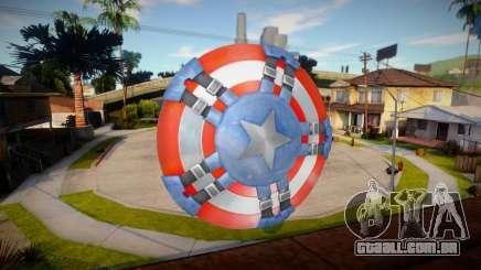 Captains Shield (Modern Soldier) para GTA San Andreas
