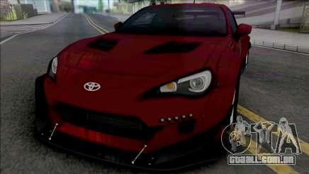 Subaru BRZ Rocket Bunny Susan & Mary para GTA San Andreas