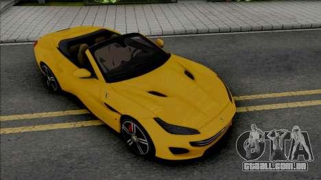 Ferrari Portofino 2018 [HQ] para GTA San Andreas
