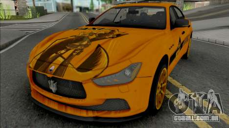 Maserati Ghibli III Taxi para GTA San Andreas