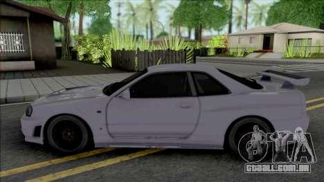 Nissan Skyline GT-R Nismo S-Tune [Fixed] para GTA San Andreas