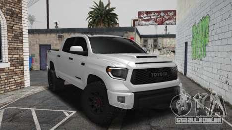 Toyota Tundra TRD PRO 2021 - Fim da Estrada para GTA San Andreas