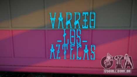 Novas gangues de grafite para GTA San Andreas