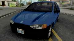 Fiat Siena 1997 para GTA San Andreas