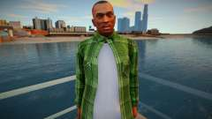 CJ as Grove Family Outfit v2 para GTA San Andreas