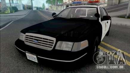 Ford Crown Victoria 1998 CVPI LAPD para GTA San Andreas