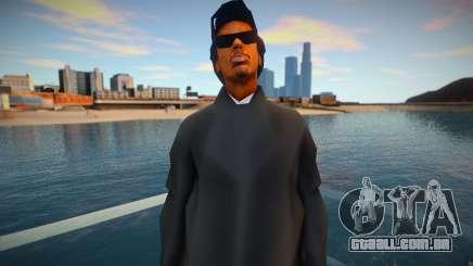 Ryder Black para GTA San Andreas