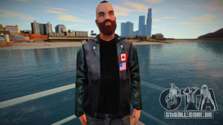 Lost MC biker para GTA San Andreas