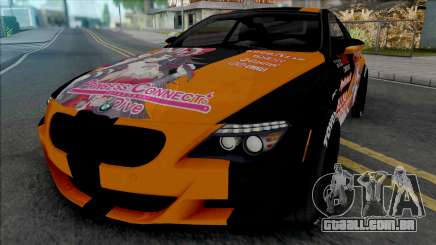 BMW M6 Itasha Princess Connect Re Dive para GTA San Andreas