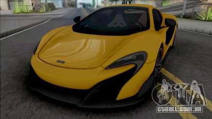 McLaren 675LT Spider 2016 para GTA San Andreas