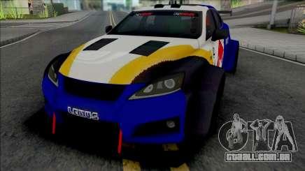 Lexus IS F 2009 [HQ] para GTA San Andreas