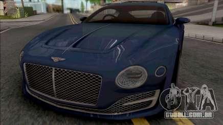 Bentley EXP 10 Speed 6 2015 para GTA San Andreas