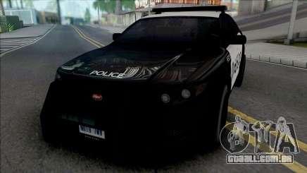 Vapid Torrence Police Las Vanturas v2 para GTA San Andreas