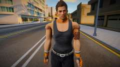 Brad Burns with Tank and Suit Pants 2 para GTA San Andreas
