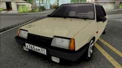 VAZ-21099 Bege para GTA San Andreas