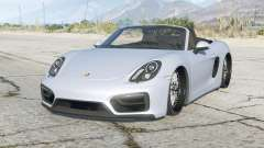 Porsche Boxster GTS (981) 2014〡lowered〡add-on para GTA 5
