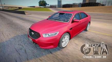 2013 Ford Taurus Civil (Low Poly) para GTA San Andreas