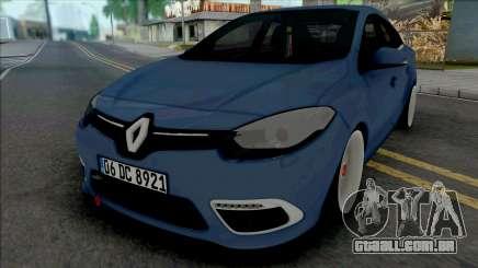 Renault Fluence Quantum Works para GTA San Andreas