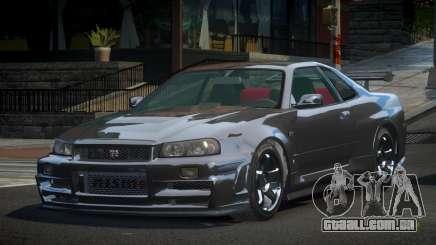 Nissan Skyline R34 G-Tuning para GTA 4