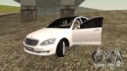 Mercedes-Benz S500 Vossen Tintet para GTA San Andreas
