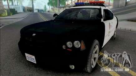 Dodge Charger 2007 LAPD v2 para GTA San Andreas