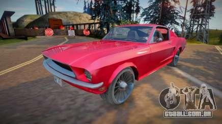 Ford Mustang Fastback 1968 (good model) para GTA San Andreas