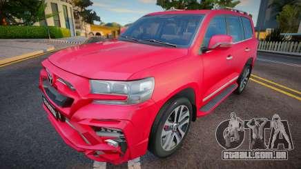 Toyota Land Cruiser 200 18 para GTA San Andreas