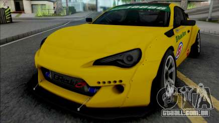 Toyota GT86 Yellow para GTA San Andreas