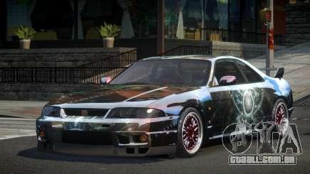 Nissan Skyline R33 PS-I S10 para GTA 4