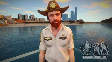 TWD Onslaught Rick Sheriff para GTA San Andreas
